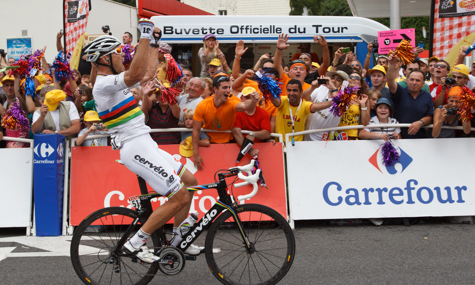 Thor Hushovd Tour de France by Mark Johnson/Ironstring